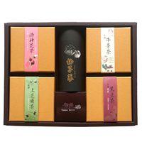 金彩堂 禮盒旗艦升級版 (牛蒡茶、牛蒡黑豆、洛神花、土芭樂、柚子蔘)