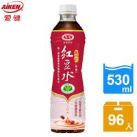 愛健 萬丹紅紅豆水(530ml *24入/箱)*4