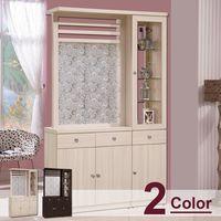 【時尚屋】[G17]畢梭爾4尺雙面櫃G17-A189-3 二色可選