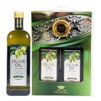 台糖 純級橄欖油禮盒 3盒 (1公升x2瓶)