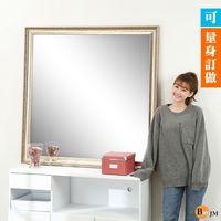 BuyJM 新古典優雅穿衣鏡/壁鏡/玄關鏡/浴鏡(高120x120公分)可訂製尺寸大小需7-10工作天