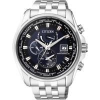 CITIZEN Eco-Drive 競速賽車電波計時腕錶-藍/ 44mm AT9031-52L