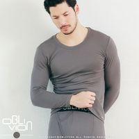 【OBLIVION】男柔軟刷毛圓領保暖衣+柔軟刷毛保暖褲組合 (WARM)