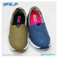 【G.P 女款氣墊輕量休閒懶人鞋】P5720W-藍色/橄欖綠色(SIZE:36-40 共二色)