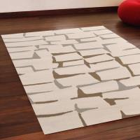 【Ambience】比利時Shiraz 現代地毯--磚牆(米色)(160x230cm)