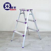 【Amos】超穩固多 三階鋁製A字椅梯 折疊收納梯