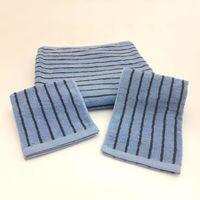 MORINO美國棉色紗彩條浴巾