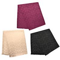 【COACH】2016秋冬新款經典LOGO C 羊毛暖冬針織圍巾(米白色/黑色/紫紅色)