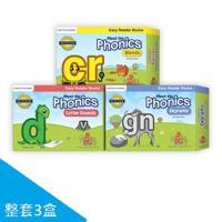 【美國PreSchool Prep】Phonics自然發音讀本套組(整組三盒)