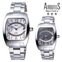 ARBUTUS 愛彼特 酒桶型紳士腕錶 AR0069-0L(黑面) / AR0069-1L(白面)