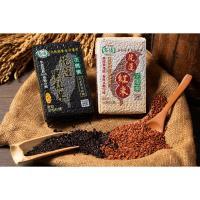 名優-花蓮黑米( 黑秈糙米)5包+紅米(紅糙米)5包共10包