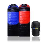 (SHOP4FUN)購瘋趣冬季睡袋~藍黑 紅黑兩色拆帽可拼接