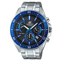 【CASIO】EDIFICE 極速扇型時尚大型錶眼指針腕錶 EFR-552D-1A2