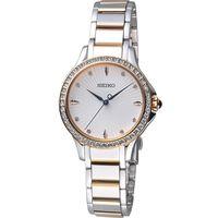 SEIKO 精工 低調奢華時尚晶鑽女錶 7N01-0HR0KS 雙色 SRZ486P1