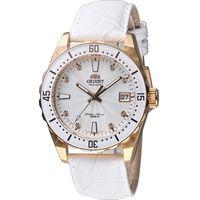 ORIENT 東方錶 SPORT系列 100M潛水機械錶 FAC0A003W 白色 皮帶款