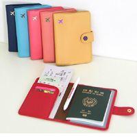 【RAIN DEER】純色防消磁短款護照夾輕旅行系列(隨機出貨)