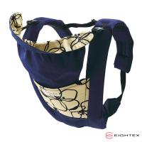 【日本Eightex】日本製 桑克瑪為好Prele五合一多功能背巾(花樣深藍)