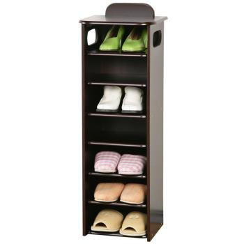 【Homelike】新歐風七層置物鞋櫃(2色)