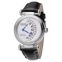 epos Originale 原創系列雙逆跳限量機械腕錶-銀x黑/42mm 3431.878.20.30.25FB
