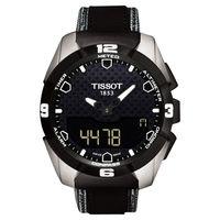 TISSOT T-TOUCH EXPERT SOLAR 鈦金屬太陽能觸控腕錶-黑/45mm T0914204605101
