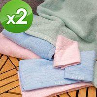 【法式寢飾花季】優雅生活-無撚紗超蓬鬆柔軟波紋浴巾(BA0849)x2件組