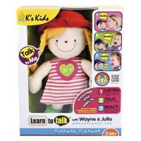 【Ks Kids 奇智奇思】愛說話的茱莉亞 SB00278