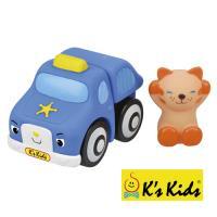 【Ks Kids 奇智奇思】彩色安全積木-咪咪貓警車 SB00289