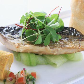 富琳嚴選 安心好魚-正宗挪威薄鹽鯖魚片140g *6片