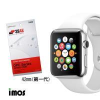 iMos Apple Watch(42mm)第一代 超抗潑水疏油效果保護貼-兩入