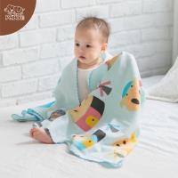 【PEILOU】貝柔童話抗菌紗布浴巾-三小豬