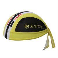 【米蘭精品】自行車頭巾抗UV運動頭巾帥氣黑黃拼接造型73fo56