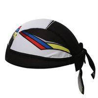 【米蘭精品】自行車頭巾抗UV運動頭巾簡約黑白拼接造型73fo57