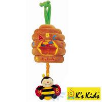 【Ks Kids 奇智奇思】拉繩音樂蜜蜂 SB00110