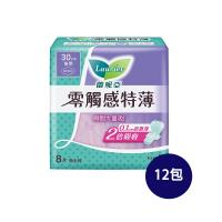 蕾妮亞  零觸感衛生棉-特長夜用型30cm (8片x12入)