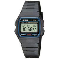 【CASIO】 運動小子電子錶-藍框 (F-91W-1)