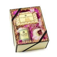 HW英倫薇朵 黃金沐浴馨香禮盒(手工香氛皂95g+香浴塊40g+香氛燭75g)