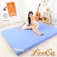 LooCa 抗菌防蹣防水11cm彈力記憶床墊(雙人5尺)