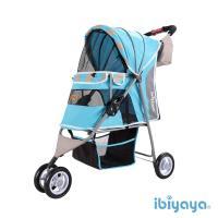 【IBIYAYA依比呀呀】繽紛午茶寵物三輪車-慕斯藍(FS1101S)