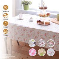 塑膠長形桌巾 137x180 台灣製  (隨機出貨)