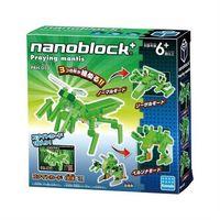 【Nanoblock PLUS 迷你積木】PBH-010 螳螂