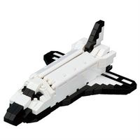 【Nanoblock 迷你積木】NBH-128 太空梭軌道器