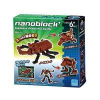 【Nanoblock PLUS 迷你積木】PBH-013 獨角仙