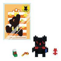 【Nanoblock 迷你積木】黑熊聖誕禮物 NBGC-005
