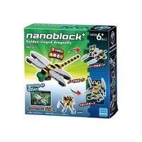 【Nanoblock PLUS 迷你積木】PBH-012 蜻蜓