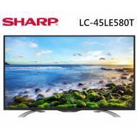 [結帳現省]SHARP夏普 FHD智慧聯網液晶電視 LC-45LE580T