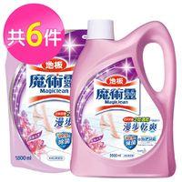 魔術靈 地板清潔劑1+5件組 (2000ml+補充包1800mlx5) 4種香味任選