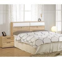 【AT HOME】凱文5尺橡木紋雙人床4件組(床頭箱/床底/床墊/床頭櫃)