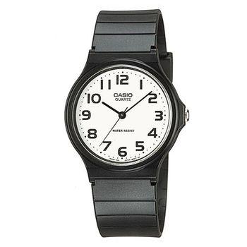 【CASIO】 超輕薄感數字錶-白面黑數字 (MQ-24-7B2)