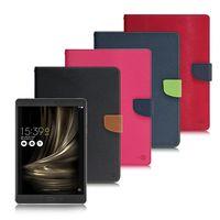【台灣製造】MyStyle ASUS ZenPad 3S 10 (Z500M) 9.7吋 甜蜜雙搭支架側翻皮套