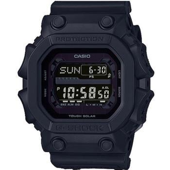 【CASIO】G-SHOCK潮流專屬黑色控日線全黑系列休閒運動錶 (GX-56BB-1)
